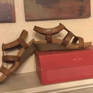 Rockport Cobb Hill Harper Wedge Sandal, NIB